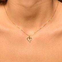 Małe zdjęcie Zawieszka serce mała