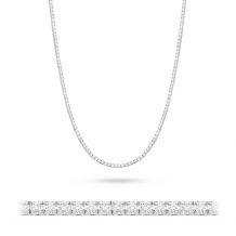 Małe zdjęcie Naszyjnik z brylantami, białe złoto