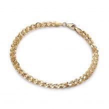 Bransoletka łańcuch złota