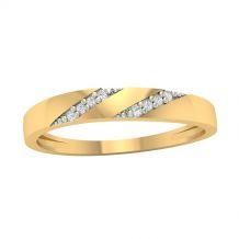 Stylowy pierścionek z...