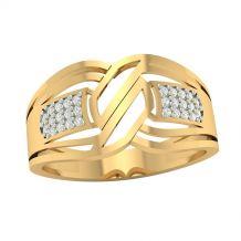 Złoty pierścionek w...