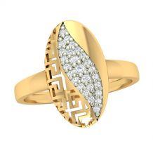 Piękny ażurowy pierścionek...