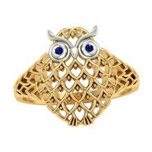 Stylowy pierścionek w...