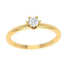 Minimalistyczny pierścionek...