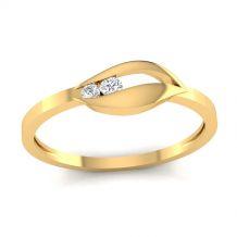 Pierścionek z żółtego złota...