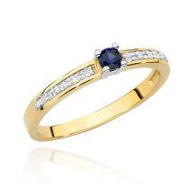 Delikatny pierścionek z...