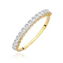 Brylantowy pierścionek z...