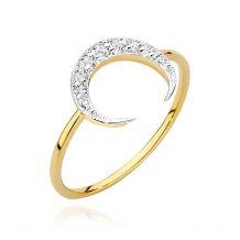 Księżycowy pierścionek z...