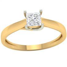 Piękny złoty pierścionek...