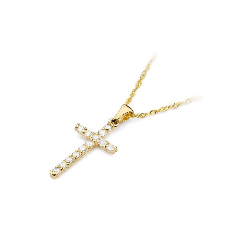 Zawieszka z krzyżem mała