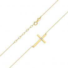 Małe zdjęcie Celebrytka prosty krzyż