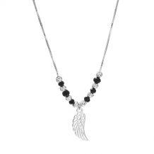 Celebrytka srebrna skrzydło