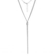 Elegancka krawatka ze srebra