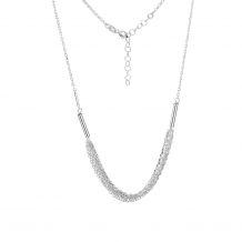 Naszyjnik srebrny łańcuch