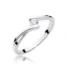 Klasyczny pierścionek...